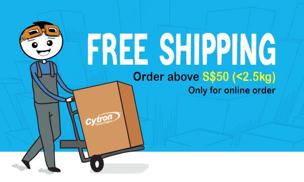 Free Shipping S$50