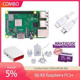 Bộ Kit Raspberry Pi 3 Model B+ - Hoàn chỉnh