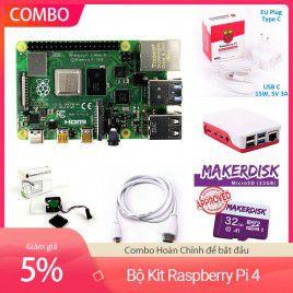 Bộ Kit Raspberry Pi 4 Model B 2GB - Hoàn chỉnh