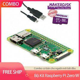Bộ Kit Raspberry Pi Zero W Cơ Bản