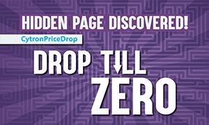 Cytron Price Drop