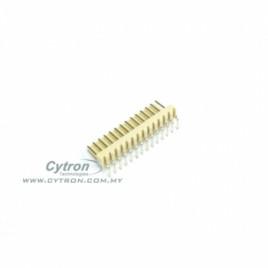 2600 PCB Connector Header (R/A) 14 Ways
