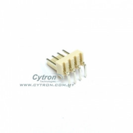 2600 PCB Connector Header (R/A) 4 Ways
