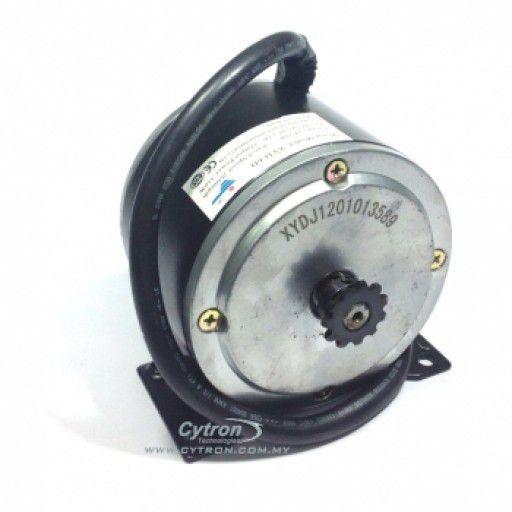 24V 2600RPM 12.24kgfcm Electric Scooter Motor