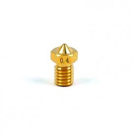 3D Printer 0.4mm Extruder Flat Nozzle (1.75mm Input)