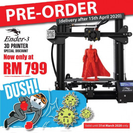 PRE-ORDER: Creality Ender3 3D Printer DIY Kit (Unassembled)