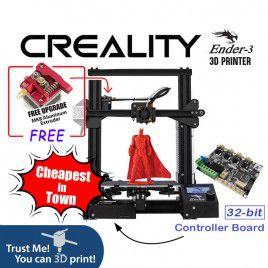 Creality Ender-3 3D Printer DIY Kit (Unassembled)