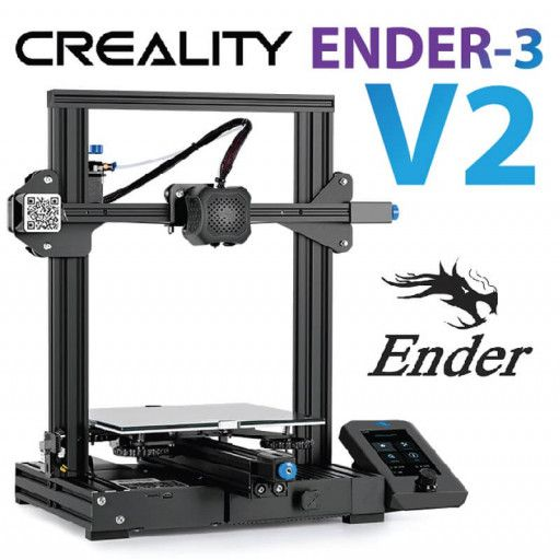Creality Ender 3 V2 3D Printer DIY Kit (Unassembled)-UK Plug