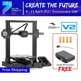 Creality Ender 3 V2 3D Printer DIY Kit (Unassembled)-UK Plug