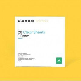 Mayku Clear Sheet (PETG) 1.0mm 20 Pack