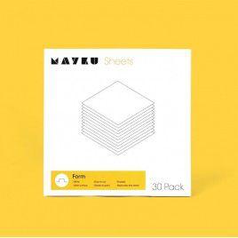 Mayku Form Sheets (HIPS) 0.5mm 30 Pack