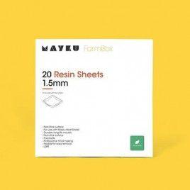 Mayku Resin Sheets (LDPE) 1.5mm 20 Pack