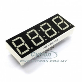 4 x 7 Segment Display 0.5inch C/Anode