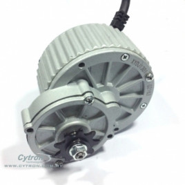 24V 395RPM 112kgfcm Electric Scooter Motor With Gear