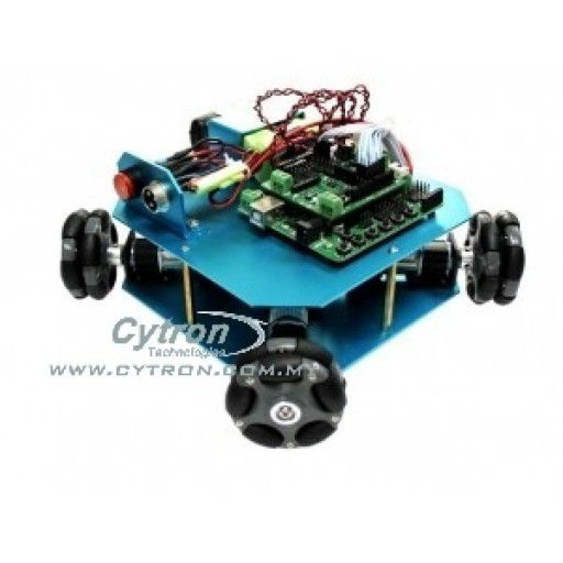 4WD 58mm Omni Wheel Arduino Robot Kit