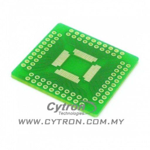 64/80 Pin TQFP to DIP Adapter