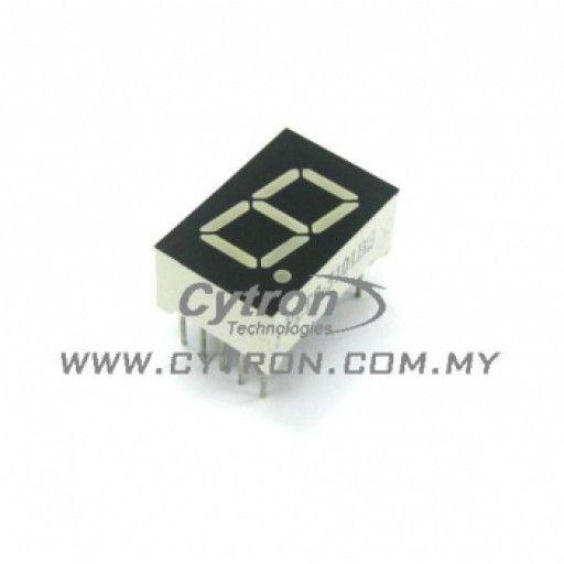 7 Segment Display 0.5inch Common Cathode