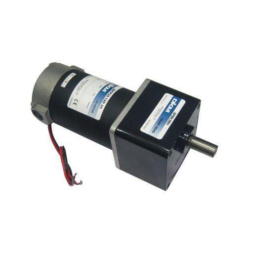 24V 100RPM 128.5kgfcm DKM DC Motor with Geadbox