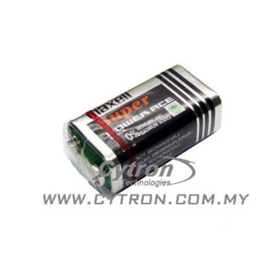 9V Battery (Maxell)