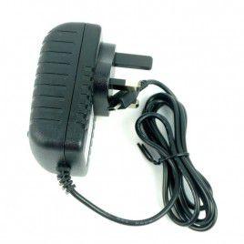 5V 1A Adapter micro B USB cable (UK plug)