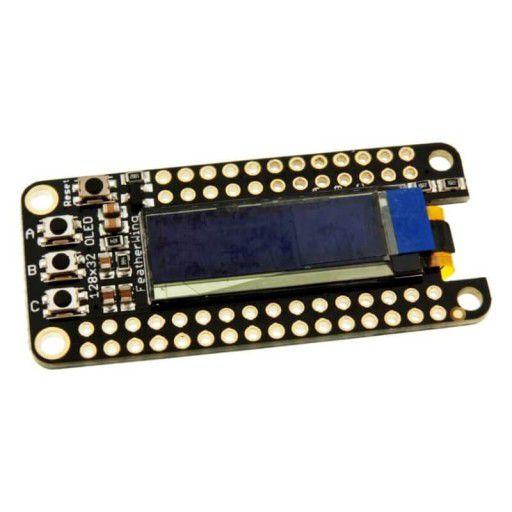 Adafruit FeatherWing 128x32 OLED Board
