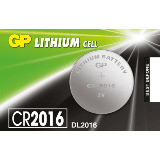 GP CR2016 Coin Cell Battery