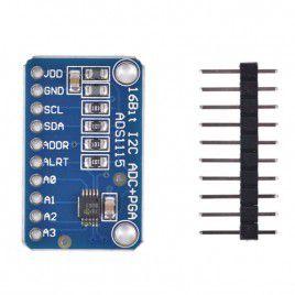 4 CH 16-bit ADS1115 ADC Module