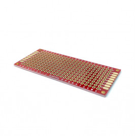 Double Sided Donut Board 3x7cm - Red