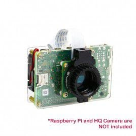 Acrylic Case for HQ Camera with Fan