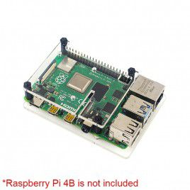 Acrylic Case for Raspberry Pi with HQ Camera Mount