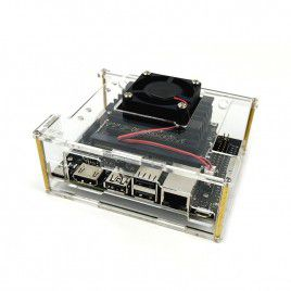 Acrylic Case with Cooling Fan for Jetson Nano 2GB