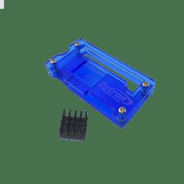 Vỏ Acrylic cho RPI Zero/Zero W (Xanh dương)