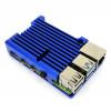 Fanless Armor Case for Raspberry Pi 4B - Blue