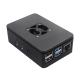 Raspberry Pi 4 Case with Fan (Black)