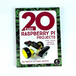 Book-20 Easy Raspberry Pi Projects