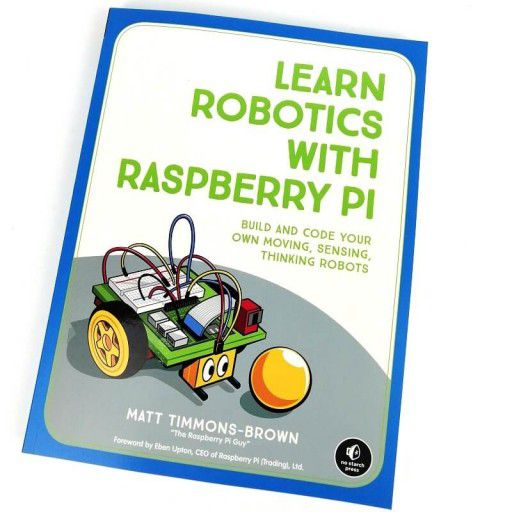 Book-Learn Robotics with Raspberry Pi