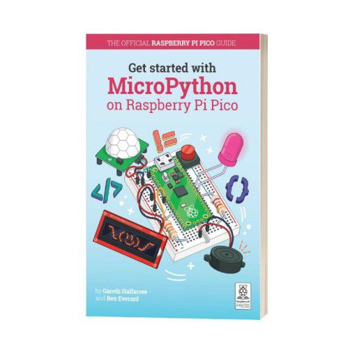 Get Started with MicroPython on Raspberry Pi Pico-Color Printed