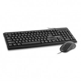Cliptec USB Wired Keyboard and Mouse Combo