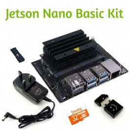 Jetson Nano Basic Kit - 32GB MicroSD & Power Adapter