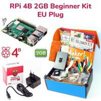 Raspberry Pi 4B 2GB Beginner Kit-EU Plug