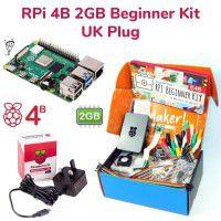 Raspberry Pi 4B 2GB Beginner Kit-UK Plug