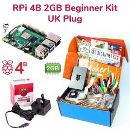 Raspberry Pi 4B 2GB Beginner Kit-UK Plug