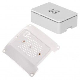 VESA Mount 100 Base & Raspberry Pi Case - White