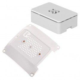 VESA Mount 100 Base & Raspberry Pi Case - White