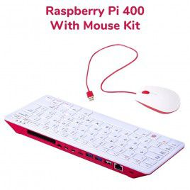 Raspberry Pi 400 Wired Mouse Bundle-US Layout