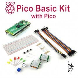 Raspberry Pi Pico Basic Kit - with Pico
