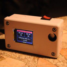 Mobile Particulate Matter (PM2.5) Measurement Project