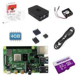Raspberry Pi 4 (4GB) Starter Kit