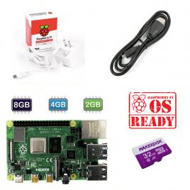 Raspberry Pi 4 Model B Basic Kit