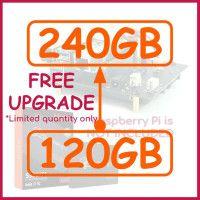 "2.5"" SSD & USB3.0 SATA Shield for RPi4-w/o RPi"